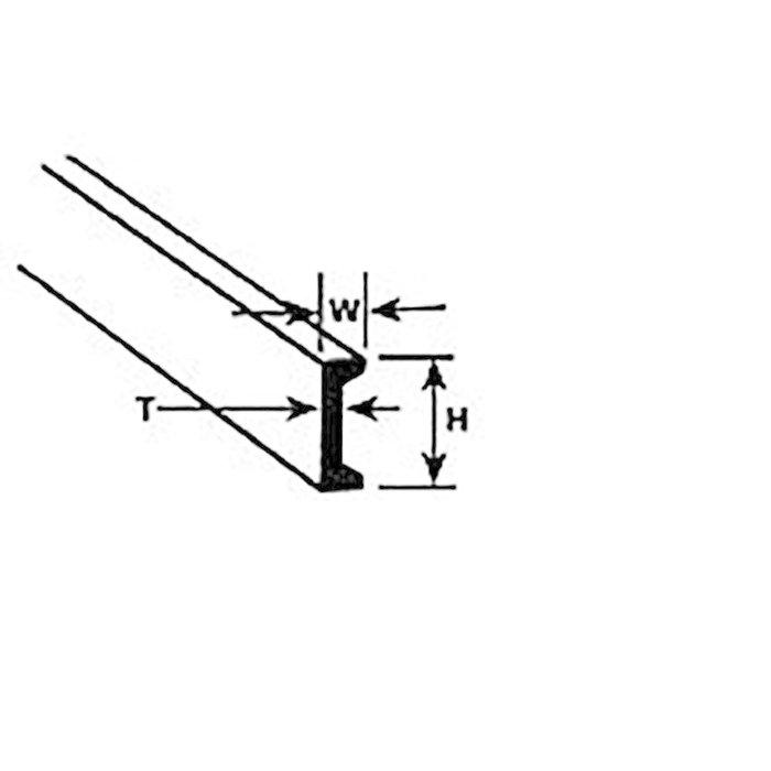"""CFS-8 Channel,1/4"""" (5)"""