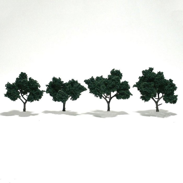 "Trees 2""""-3"""" Medium Green"