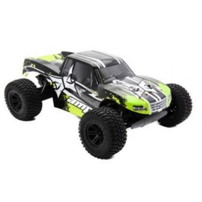 AMP MT 1:10 2WD Monster Truck: Black/Green RTR