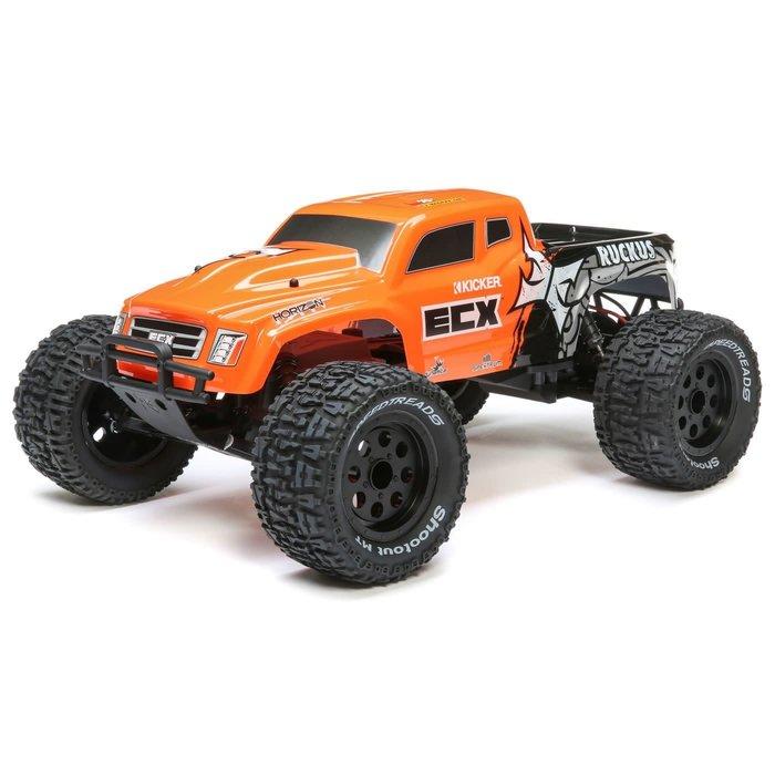 1/10 2wd Ruckus MT: Orange RTR