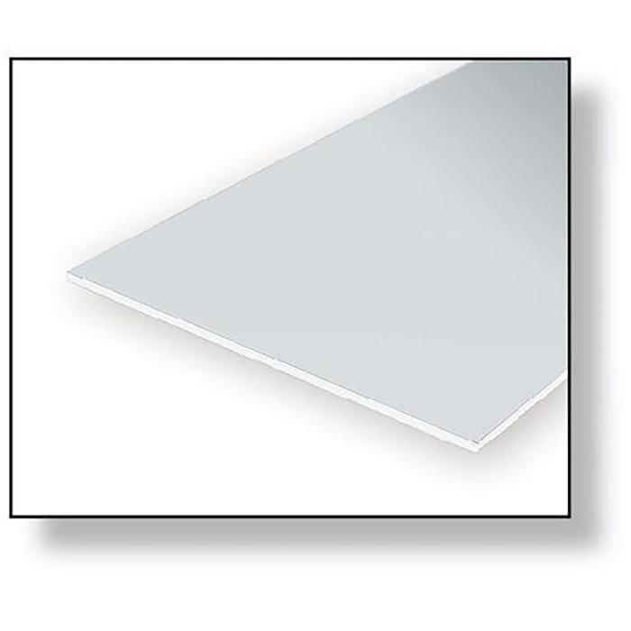 White Sheet .080 x 6 x 12