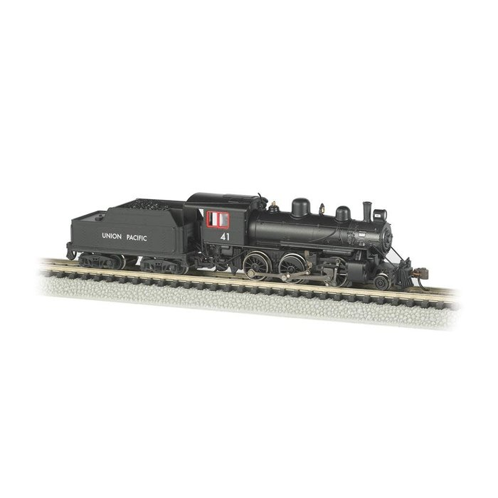 N 2-6-0 Steam Loco UP #41/DCC