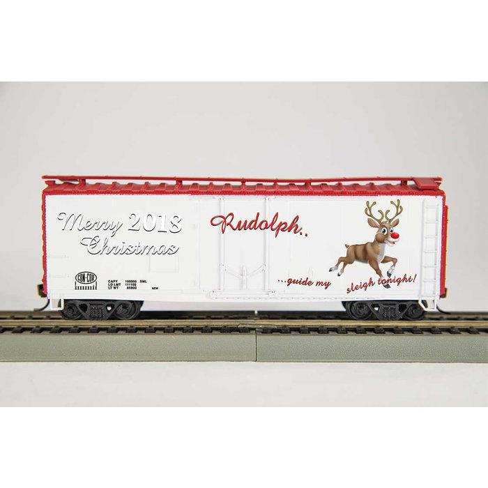 N 50' 2018 Rudolph Christmas Car