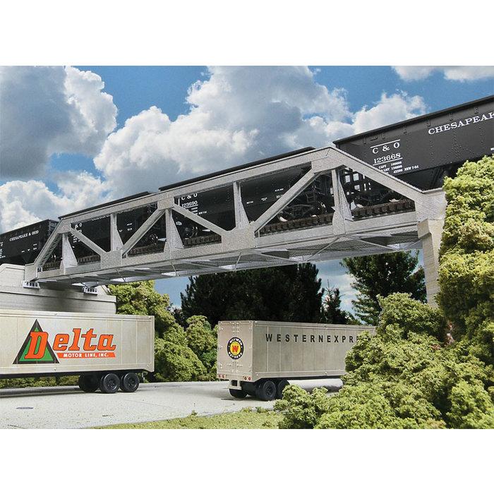 HO Single Track Pony Truss Bridge