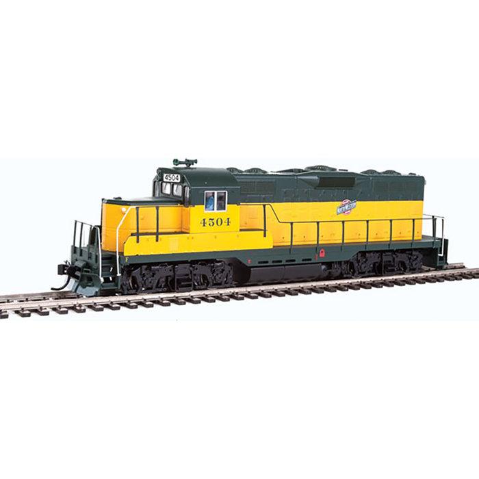HO GP9 Low Hood DC CNW 4504