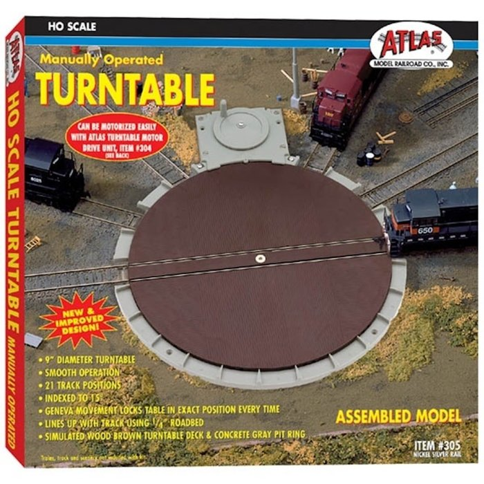 HO Turntable