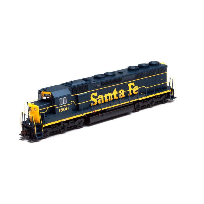 HO SD45 Santa Fe #1806 DCC/Snd Ready