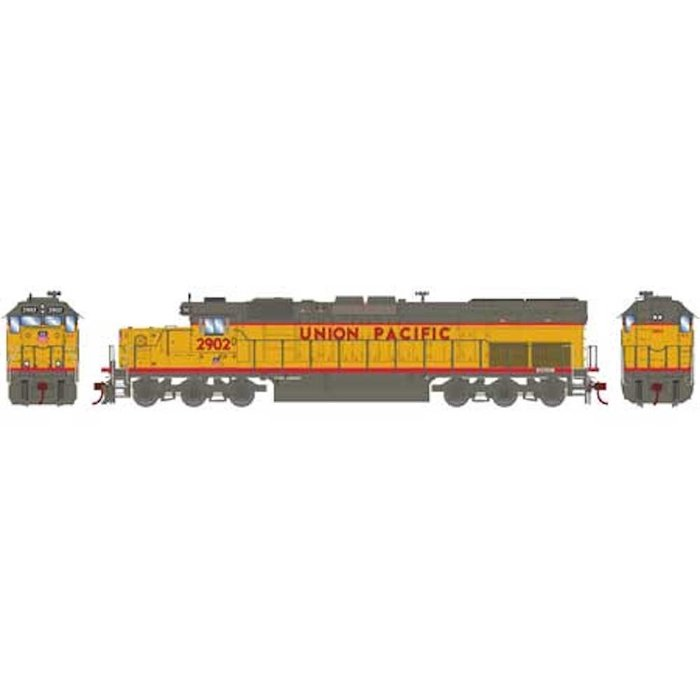 HO RTR SD40T-2 w/DCC & Sound, UP #2902