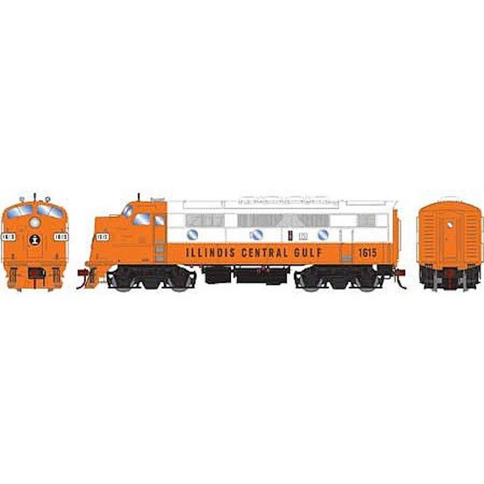 HO F3A ICG/Freight #1615 w/DCC & Sound