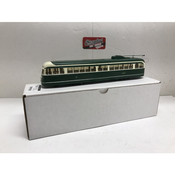 St Petersburg Tram Collection #166b 1/48 1936/37 CTA St. Louis Car Co. PCC - in 1952 one-man version. #4027
