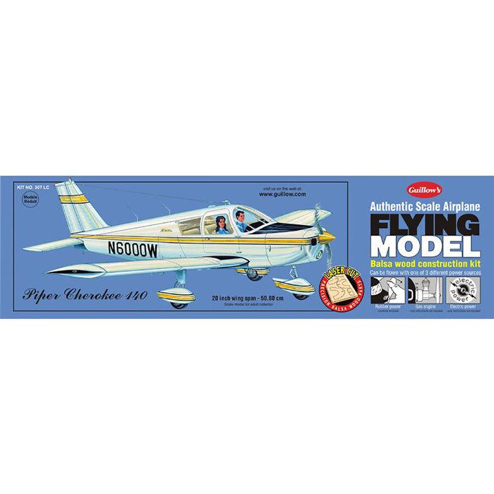 Piper Cherokee 140 Laser Cut