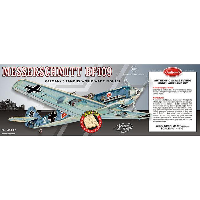 Messerschmitt BF 109 Laser Cut