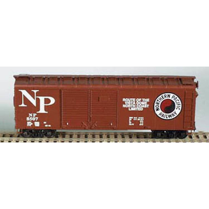 HO 40' Double-Door Boxcar Northern Pacific Kit