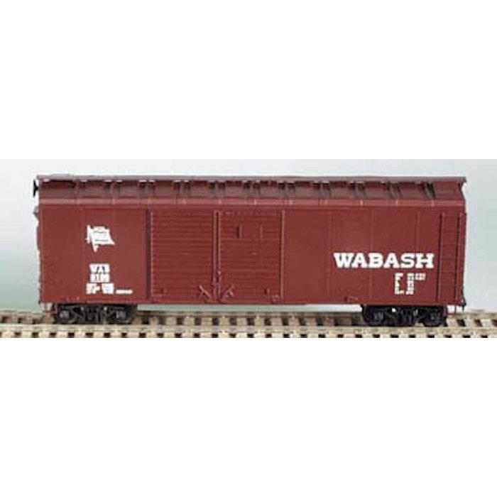 HO 40' Double-Door Boxcar Wabash Kit
