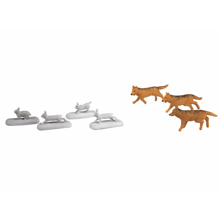O Polar Express Wolves&Rabbits Animal Pack