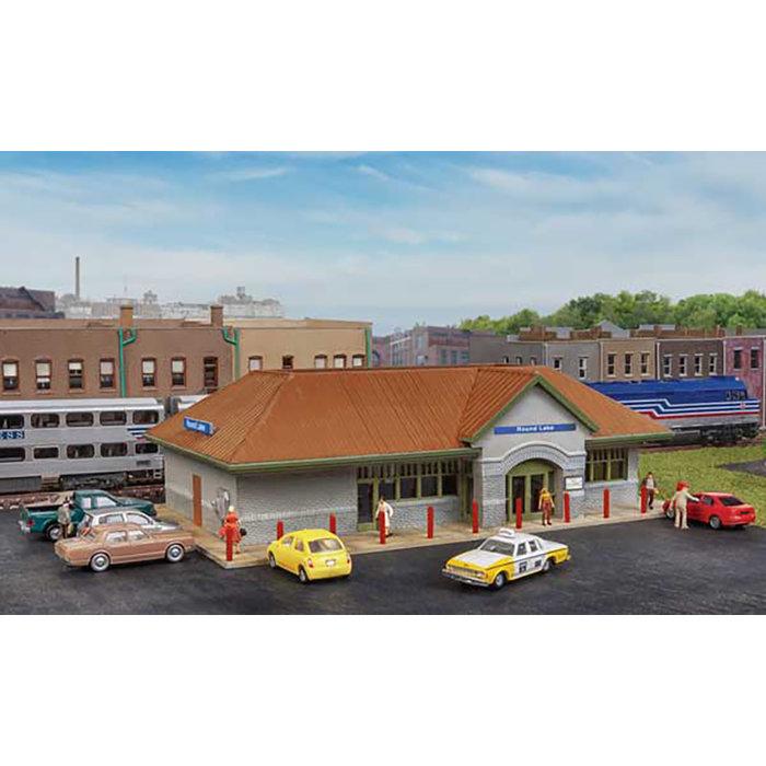 N Modern Suburban Station Kit