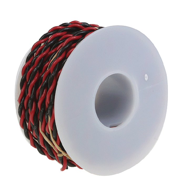22 Gauge Two Conductor Hookup Wire 30'