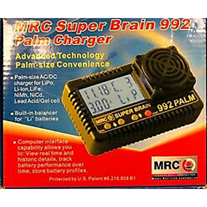 Super Brain 992 Palm Charger