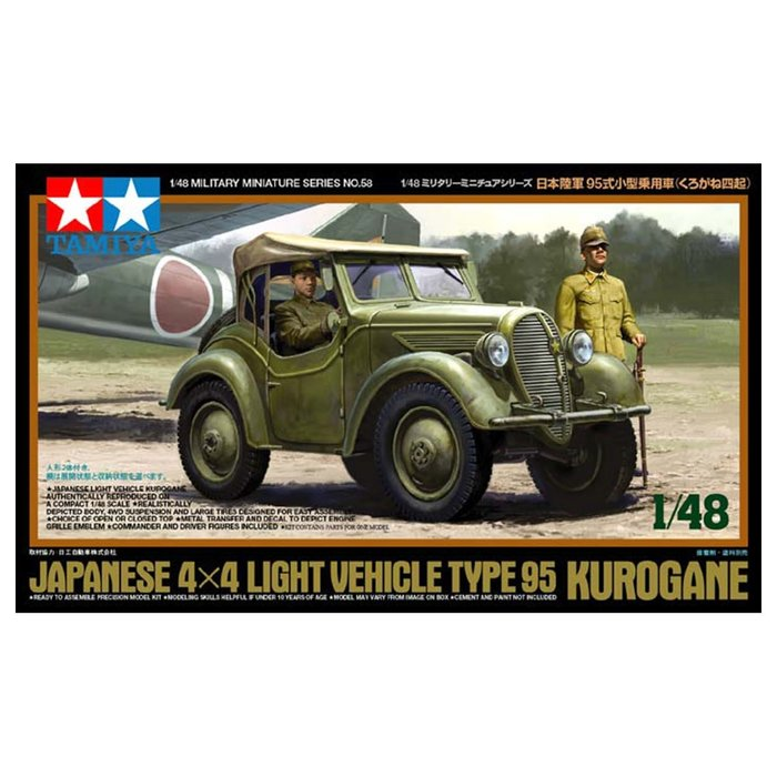 1/48 4x4 Type 95 Kurogane Light Veh