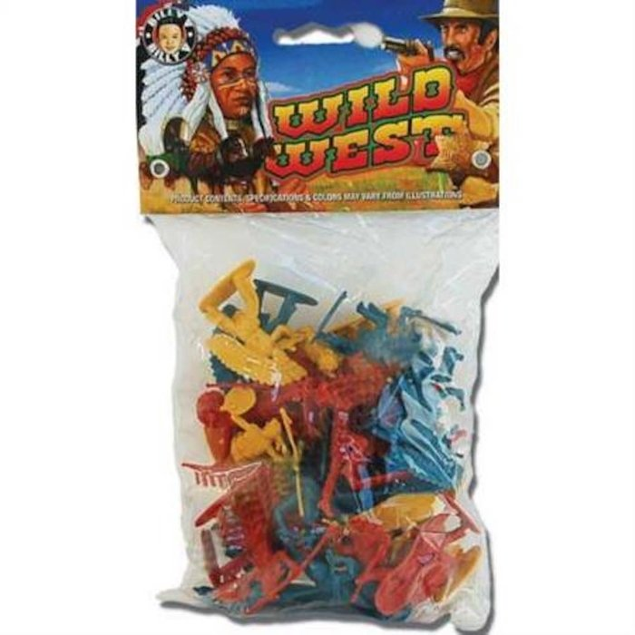 Wild West Bag Of Cowboys 30pc