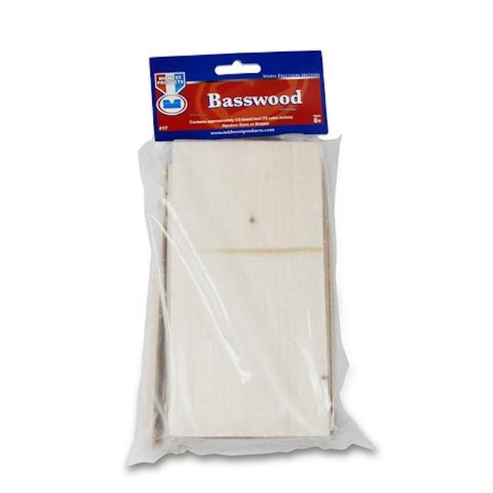 Basswood Economy Bag Assort.