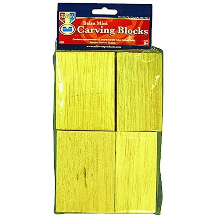 Balsa Mini Carving Block Bag