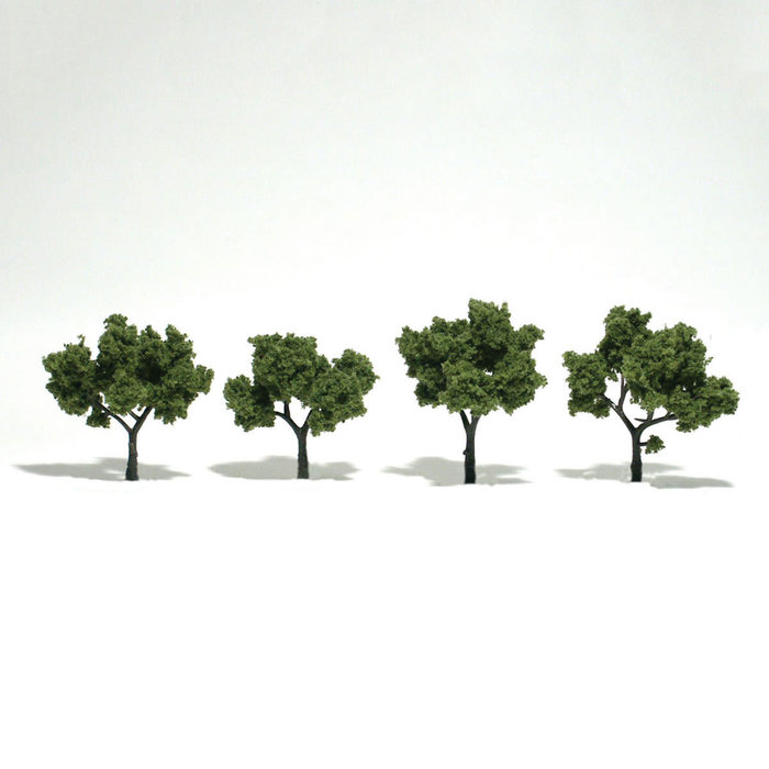"Trees 6""""-7"""" Light Green"