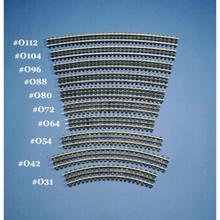 O84 Track (16 P/Cir.)