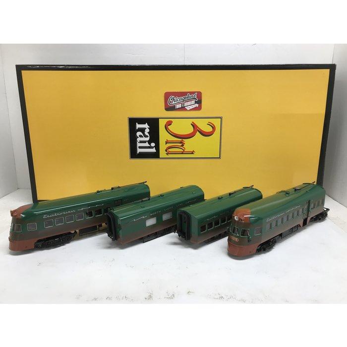 3rd Rail O North Shore Electroliner 3-rail W/TMCC
