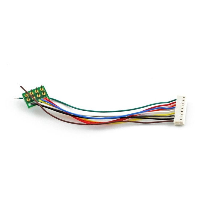 9-pin JST to NMRA 8-pin Wiring Harness