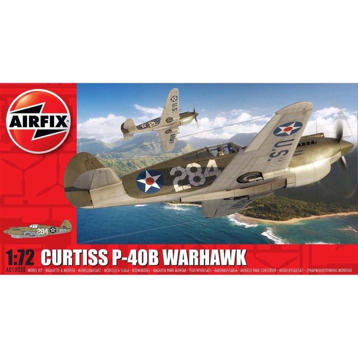 1/72  Curtiss P-40B Warhawk