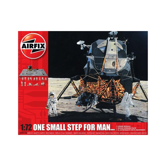 1/72  One Step for Man 50th Anniversary of 1st Manned Moon Landing