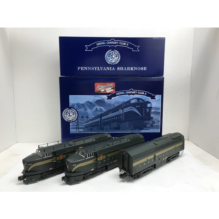 Lionel 6-14532/6-24510 O Pennsy Sharknose A-B-A w/TMCC