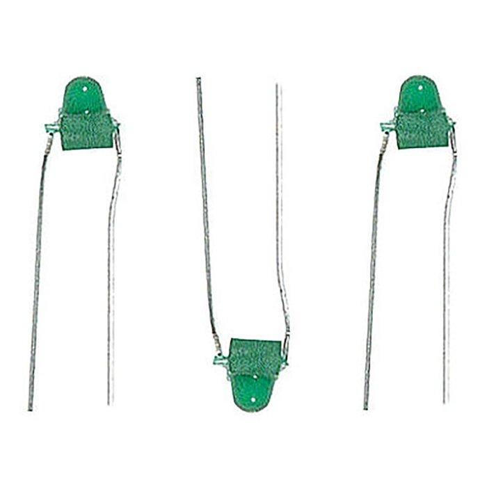 LEDs 1.5mm dia green  12/