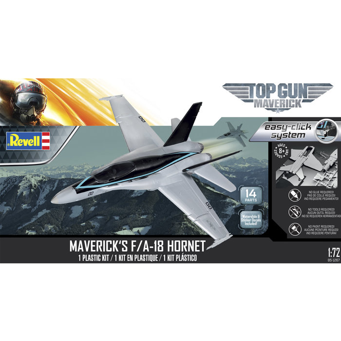F/a-18e Super Hornet Top Gun - Maverick Easy-click