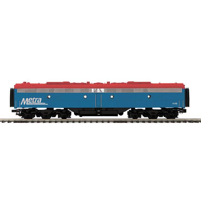 MTH 20-20851-3 O Metra E8B Diesel #515B/Dummy/Hi-Rail