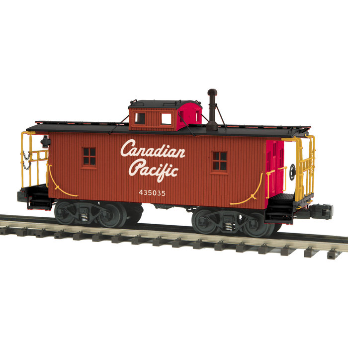 O Canadian Pacific N6B Caboose w/Operating Signal Man