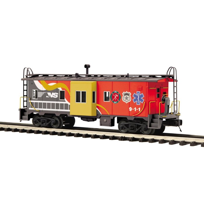 O Norfolk Southern First Responders Bay Window Caboose