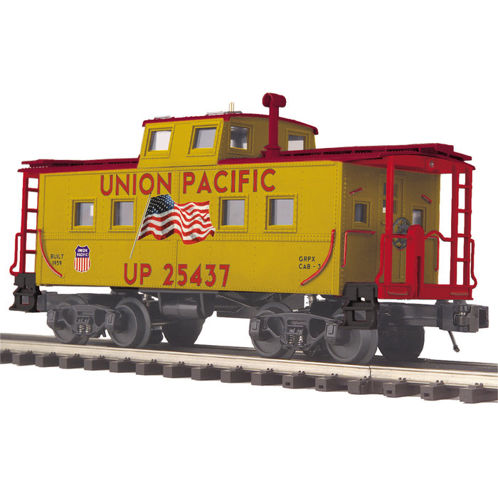 O Union Pacific Center Cupola Steel Caboose