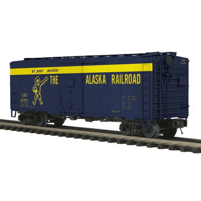 O 40' AAR Box car Alaska