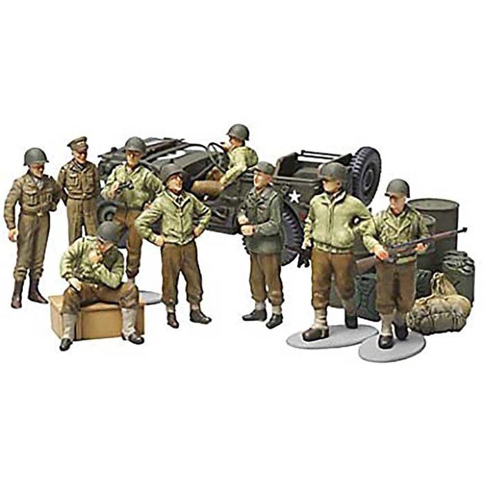 1/48 US Infantry at Rest Set