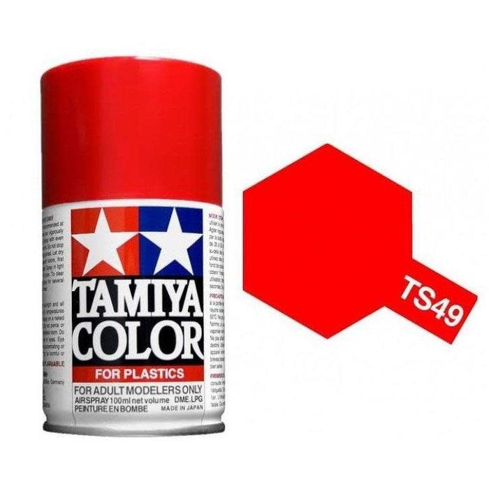 Spray TS-49 Bright Red