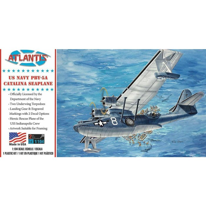 1:104 PBY-5A US Navy Catalina Seaplane US Navy