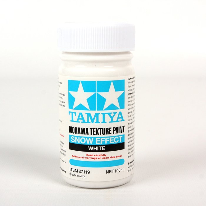 Diorama Texture Paint 100ml - Snow Effect