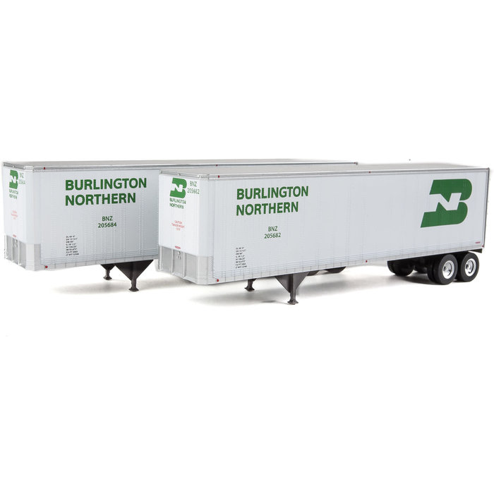 HO 40' Trailmobile Trailer 2 pack BN