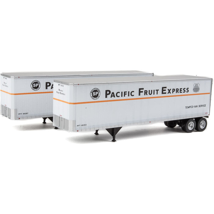 HO 40' Trailmobile Trailer 2 pack PFE
