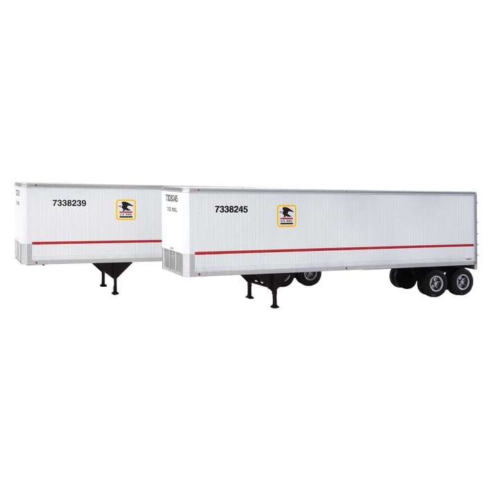 HO 40' Trailmobile Trailer 2 pack USPS