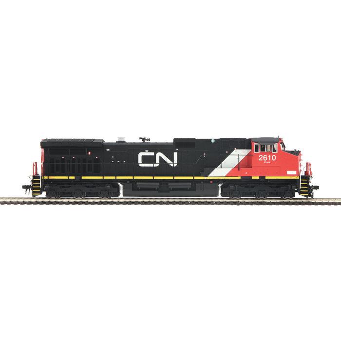 HO Dash-9 Diesel CN #2610/DCC Ready