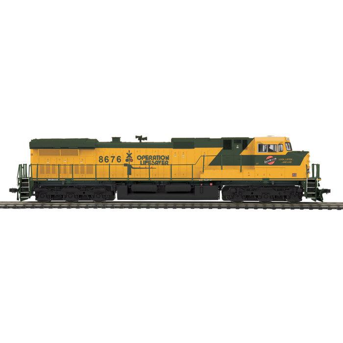 HO C44-9W Diesel CNW #8676/3.0