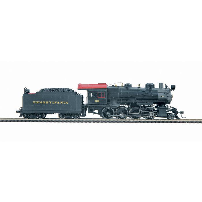 HO PRR H10 2-8-0 #7107 Steam Loco/3.0